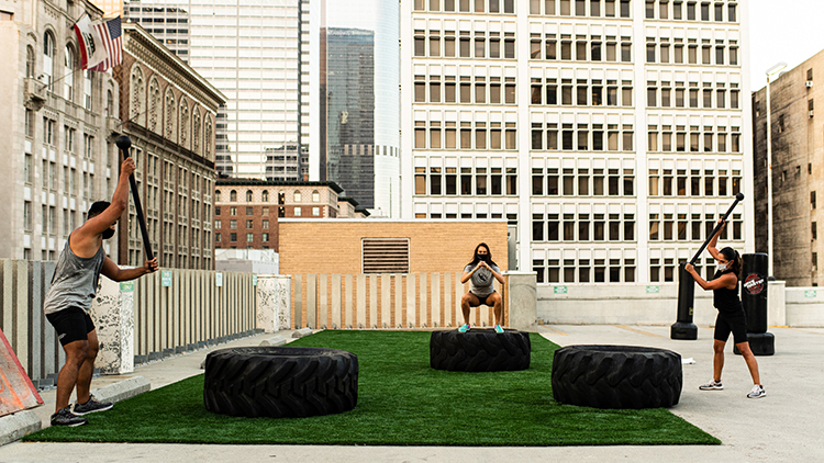 5 Fab Places in DTLA to Work Out Outdoors